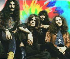 Black Sabbath - Geezer Butler, Ozzy Osbourne, Tony Iommi, and Bill Ward.