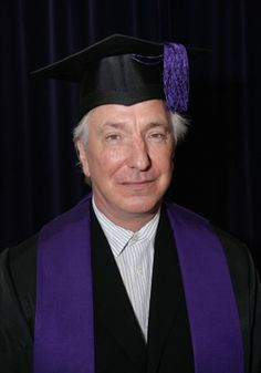 Alan Rickman - May 14, 2009 - Alan is made an Honorary Fellow - doesn't say where he's made an honorary fellow though.