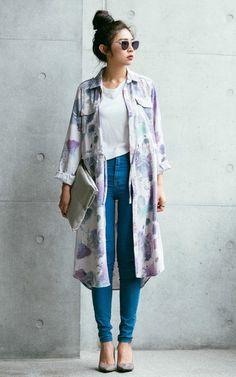 這季節的穿搭我自己追求的其實就是一份安全感,總喜歡「全遮式」的外套(真的很重要啊!),延續冬天氣勢大衣該有的長度,視覺上卻一點也不厚重~有質感的印花配色很能襯出春夏淡色系的穿搭。  SEE MORE ▶ ▶ http://hxxa.info/?p=10163  FACEBOOK ▶ https://www.facebook.com/lifeofp  INSTAGRAM ▶ http://in...