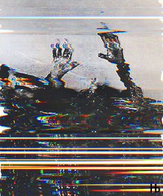 """Untitled"" foto by unknown glitching by arrv"