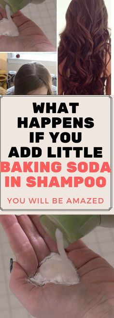 Baking soda is amazing for so many different things. It can be used as a beauty regimen, cleaning, medication, and even shampoo. In fact, baking soda shampoo is the best possible concoction to shampoo . Baking Soda Benefits, Baking Soda Uses, Baking Soda For Hair, Baking Tins, Natural Hair Care, Natural Hair Styles, Hair Cleanser, Baking Soda Shampoo, Dry Shampoo