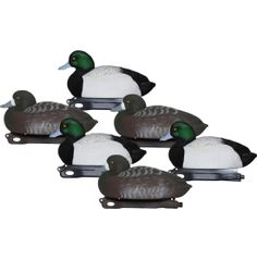 Hard Core Economy Series Canada Goose' Shell Decoys - Six Pack