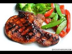 BBQ Pork W/boneless chops