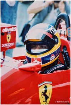 Michelle Alboretto. Ferrari