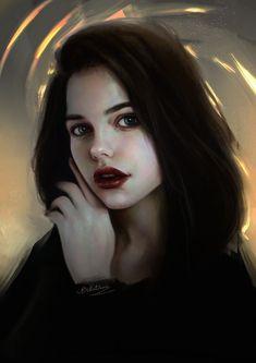 everything& - Fantasy art Character Portraits, Character Art, Historischer Roman, Vintage Illustration Art, Pop Art Girl, Digital Art Girl, Fantasy Girl, Drawing People, Portrait Art