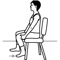 Knee bending (sitting knee flexion) and more!