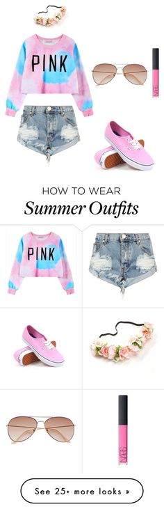 """Summer Outfit"" by chymartinez on Polyvore featuring One Teaspoon, Chicnova Fashion, Vans, NARS Cosmetics and H&M"