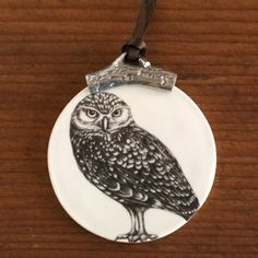 #laurazindel Christmas Ornament: Burrow Owl