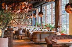 Spezzo Italian restaurant by Seventh Studio Kiev Ukraine