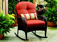 Get rid of stress and treat yourself with a super comfy Rocker or two to your outdoor space.