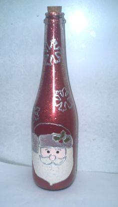 #botella #navidad