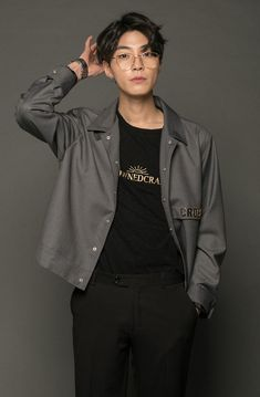 Cute Asian Guys, Cute Korean, Korean Men, Asian Men, Handsome Korean Actors, Handsome Boys, Beautiful Boys, Beautiful People, Korean Street Fashion