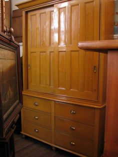 Housekeeper's cupboard originally from a large Derbyshire country estate - was gifted to the long serving maid...