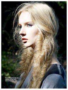 Major Fishtail braids