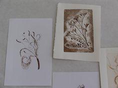 Maria Arango: 2008 Nature Printing Society's Workshop Surface Design, Printmaking, Workshop, Gelatin, Art Prints, Gallery, Frame, Nature, Artist
