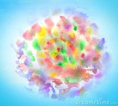Fireworks watercolor abstract background. Festive background. Hand drawn illustration. For Art, Print, Fashion, Web design.