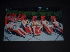 Vier-tolle-Bilder-von-den-Bay-City-Rollers-Zwei-schoene-Doppelposter