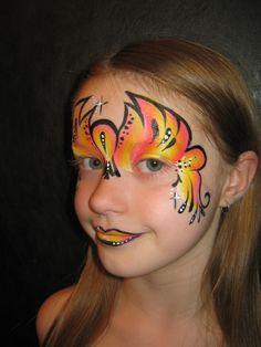 face paint one stroke masker