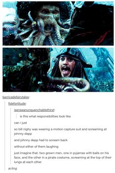 Johnny Depp, Pirates of the Carribean--that would have been SO bad. Stupid Funny, The Funny, Funny Jokes, Hilarious, Funny Stuff, Captain Jack Sparrow, Will Turner, Johnny Depp, Pirate Life