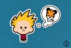 2B Calvin and Hobbes