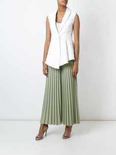 Givenchy pleated palazzo pants