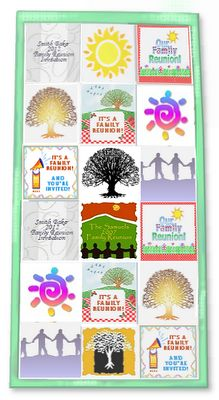 Make A Family Reunion T-shirt Quilt.