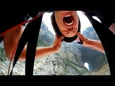 ▶ GoPro: Jeb Corliss Flies Through Tianmen Cave - YouTube