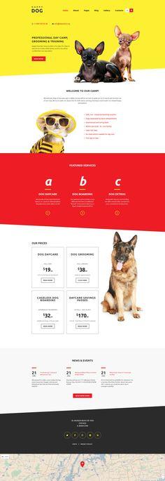 Happy Dog Joomla Template http://www.templatemonster.com/joomla-templates/happy-dog-joomla-template-58559.html