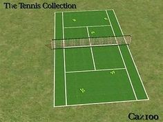 Mod The Sims - The Tennis Collection Set