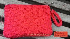 Shell stitch purse - Crochet creation by Farida Cahyaning Ati