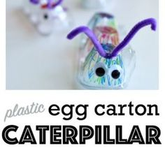 Egg Carton Caterpillar Craft-pinned by @PediaStaff – Please Visit  ht.ly/63sNt for all our pediatric therapy pins