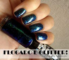 Ml de Esmaltes!: Flocado + Glitter!
