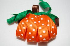 You will receive one Hairbow. All my ribbon is treated to prevent fraying, completed on a lined aligator clip that will not slip out of your little ones hair. Perfect for Fall. Your item will be shipped to you within 2-3 days after payment has been processed. Standard Shipping on this item to save you money on the rising prices at the Post Office.