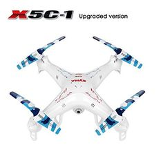 RC Quadcopter, Potensic Upgraded X5C-1 Syma Explorer 2.4GHz 6 Axis Gyro 4CH RC Drone with 2 Megapixels Camera >>> Learn more by visiting the image link.