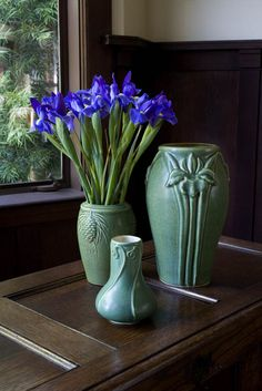 Pewabic Pottery. Photo © 2012 FAMSF-be still my heart!! I would love to see  & touch these every morning