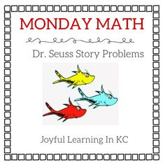 Dr. Suess Story Problems