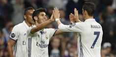 Real Madrid demuestra su fuerza goleadora en la Champions...