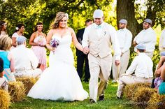 """""""You will always be the miracle that makes my life complete. And as long as there's still breath in me I'll make yours just as sweet."""" - I Cross My Heart George Strait . . . . . #henrybreedingfarm #outdoorwedding #rachelrichard #rachelrichardphotography #reallove #ido #wedding #indianawedding"""