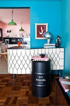 How cool is this @CHANEL canister?