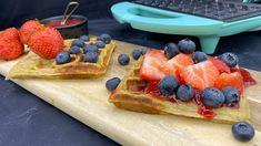Grove frokostvafler Cooking Recipes, Baking, Breakfast, Desserts, Morning Coffee, Tailgate Desserts, Deserts, Chef Recipes, Bakken