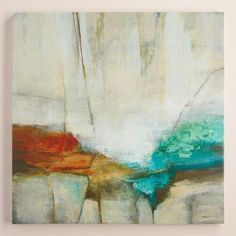 One of my favorite discoveries at WorldMarket.com: 'Stone Abstract' by Pablo Rojero