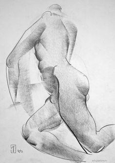 #Alexander Glazkov #scetch #drawing #Sketches #nature #pencil #figurative