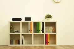ロータイプ完成品収納棚・4列2段【書斎家具通販】 Shelving, Bookcase, Home Decor, Google, Shelf, Shelves, Decoration Home, Room Decor, Bookcases
