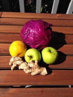 Apple ginger sauerkraut with oranges