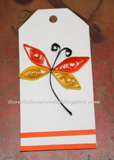 Craft Ideas for all: Paper Quilling for Kids