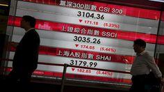 انهيار بورصة الصين وسط مخاوف من أزمة مالية جديدة - http://mtm.am/g3267