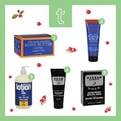 #Stocking #Stuffer ideas for Him. Shop these great #natural products for up to 50% off suggested retail price at www.trueclub.com: 1. Shea Moisture Shave Butter - $7.56  2. Shea Moisture Wash and Scrub - $6.81  3. EO Products 3-in-1 Lotion For Every Man - $9.24  4. Herban Cowboy After Shave Balm - $6.35  5. Herban Cowboy Milled Bar Soap - $3.50