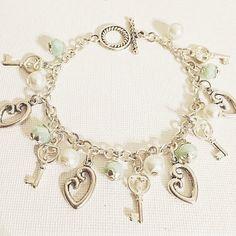 Mommy & Baby Charm Bracelet by JewelryByAME on Etsy