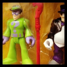 The Riddler's name is Edward Nigma (E. Nigma). #toystore