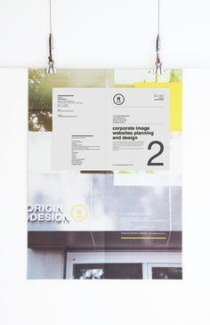 self promotion by ORIGIN.DESIGN  tw, via Behance